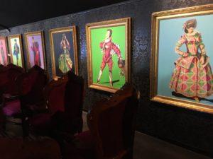 Katherine Scrivens' Commedia Dell'Arte serie