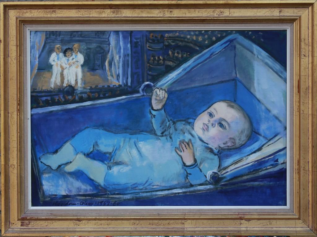 Thomas Eje malt af morfar Th. Hagedorn-Olsen
